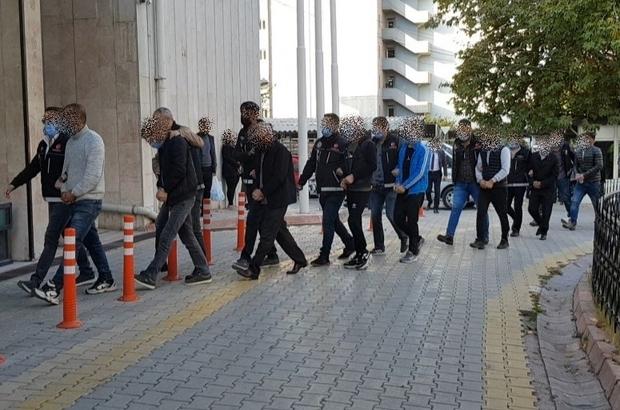 Malatya merkezli 3 ilde uyuşturucu operasyonu Gözaltına alınan 21 kişiden 18'i tutuklandı